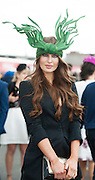 30/07/2015 report free : Winners Announced in Kilkenny Best Dressed Lady, Kilkenny Best Irish Design & Kilkenny Best Hat Competition at Galway Races Ladies Day <br /> At the Event was Roz Purcell<br /> Photo:Andrew Downes, xposure