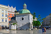 Kościół św. Wojciecha, Rynek Główny w Krakowie, Polska<br /> St. Wojciech church, Main Market Square, Poland