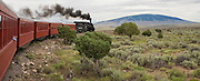 Cumbres and Toltec train makes trip across Northern New Mexico.