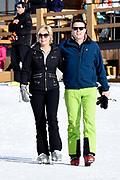 Fotosessie met de koninklijke familie in Lech /// Photoshoot with the Dutch royal family in Lech .<br /> <br /> Op de foto/ On the photo:  Prinses Laurentien en Prins Constantijn ///// Princess Laurentien and Prince Constantijn