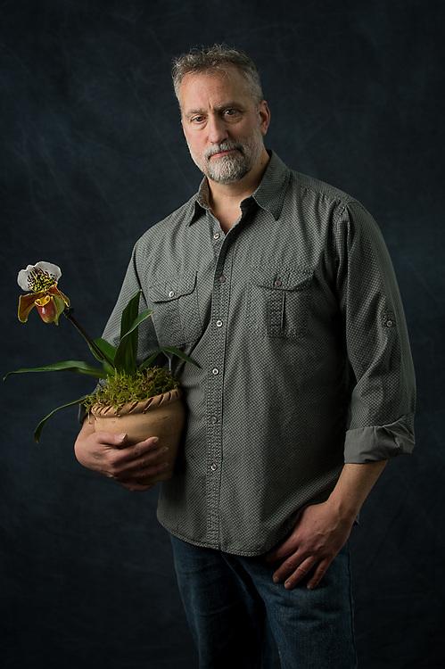 Josef Reiter florist and owner of Botanica Floral