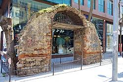 Old Ruins & Modern Building