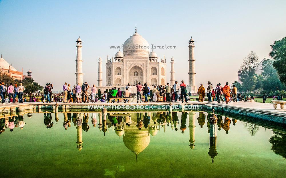 India, Uttar Pradesh, Agra, The Taj Mahal