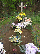 A4TR87 The Unknown Gyspy Boy's grave Newmarket Suffolk England