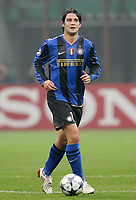 Fotball<br /> Italia<br /> Foto: Inside/Digitalsport<br /> NORWAY ONLY<br /> <br /> Christian Chivu (Inter)<br /> <br /> 22.10.2008<br /> Champions League 2008/2009<br /> Inter v Anorthosis Famagusta (1-0)