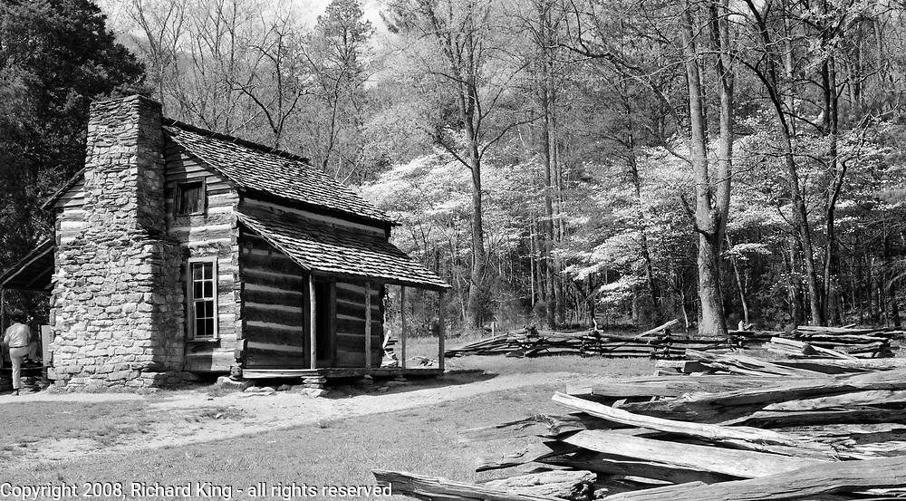 John Oliver's House, Cades Cove, Great Smoky Mountains Nationa Park