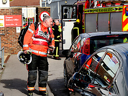 Gosport,Hampshire Wednesday 19th October 2016 A Royal Mail sorting office has been closed after a cleaning product spill from a package. Five engines from Hampshire Fire & Rescue Service, two ambulances and police were called to the building on Mill Road, Gosport at 11.20am. The Hazardous Area Response Team (HART) from South Central Ambulance Service were also sent to the scene following reports that workers at the sorting office had found a package containing a bottle containing approximately 500ml of an unidentified liquid. The liquid inside the bottle then spilt on the floor causing nausea, headaches and eye pain/itchiness to workers. Five engines from Hampshire Fire & Rescue Service, two ambulances and police were called to the building on Mill Road, Gosport at 11.20am. The Hazardous Area Response Team (HART) from South Central Ambulance Service were also sent to the scene following reports that workers at the sorting office had found a package containing a bottle containing approximately 500ml of an unidentified liquid. The liquid inside the bottle then spilt on the floor causing nausea, headaches and eye pain/itchiness to workers. On the arrival of the Hazardous Area Response Team, the effects on two patients had started to pass and they were feeling better. After investigating, HART discovered that the mysterious chemical was in fact aluminium wheel cleaner, and is not a hazardous substance. It is not believed the affected workers will require hospital treatment after being assessed and monitored at the scene. HFRS tweeted that no-one was hurt from the incident and there was no threat to the public. The sorting office has a notice on its entrance, which reads: 'Unfortunately due to health and safety, this office is closed temporarily'. Dale Fletcher, from Gosport, said that he was going to the sorting office to collect a recorded delivery before being told by a member of staff that the office would be closed for at least the rest of the day.©UKNIP