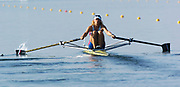 20040814 Olympic Games Athens Greece Olympic Regatta. <br /> Photo  Peter Spurrier.  <br /> RUS W1X Irina Fedotova. <br /> email;  images@intersport-images.com. <br /> Tel +44 7973 819 551