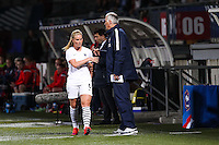 Amandine HENRY / Philippe BERGEROO  - 28.05.2015 - France / Ecosse - Match amical<br />