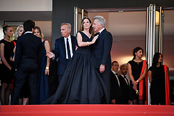 Dustin Hoffman and Lisa Hoffman attending the 'The Meyerowitz Stories (New and Selected)' premiere during the 70th Cannes Film Festival on May 21, 2017 in Cannes, France. Photo by Julien Zannoni/APS-Medias/ABACAPRESS.COM