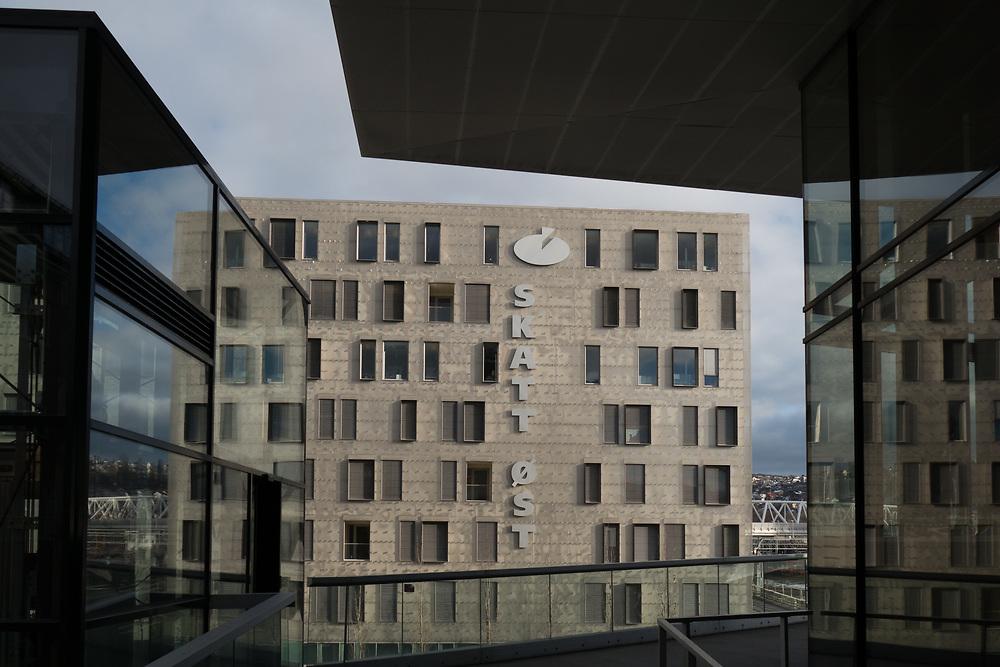 Skattekontoret i Oslo har ansvar for at det blir krevet inn rett skatt fra private og bedrifter i Oslo. Kontoret ligger i bydelen Grønland.