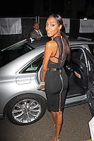 LONDON - June 04: Jourdan Dunn leaving the Glamour Awards 2013 (Photo by Brett D. Cove)