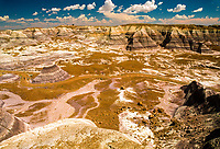 Blue Mesa, Petrified Forest National Park, Arizona USA.