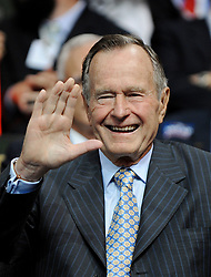 Former President George H.W. Bush attends the Republican National Convention at the Xcel Energy Center in Saint-Paul, MN, USA on September 2nd, 2008. Photo by Olivier Douliery/ABACAPRESS.COM