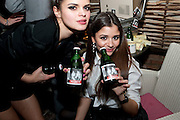 BIP LING; EVA RAMIREZ, InStyle's Best Of British Talent Party in association with Lancome. Shoreditch HouseLondon. 25 January 2011, -DO NOT ARCHIVE-© Copyright Photograph by Dafydd Jones. 248 Clapham Rd. London SW9 0PZ. Tel 0207 820 0771. www.dafjones.com.