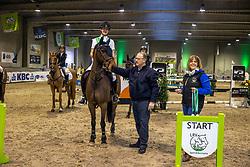 Braspenning Merel, BEL, Parco Van't Hollandhof<br /> Nationaal Kampioenschap Pony's <br /> Oud Heverlee<br /> © Hippo Foto - Dirk Caremans<br />  07/03/2020