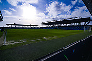 A general view of Manchester City Academy Stadium during the FA Women's Super League match between Manchester City Women and Arsenal Women FC at the Sport City Academy Stadium, Manchester, United Kingdom on 2 February 2020.