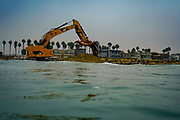 Dredging the Santa Ana River Jetty