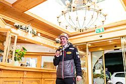 22.02.2019, Seefeld, AUT, FIS Weltmeisterschaften Ski Nordisch, Seefeld 2019, Medaillenempfang Team Österreich Nordische Kombination, im Bild Bronzemedaillengewinner Franz Josef Rehrl (AUT) // Bronze medalist Franz Josef Rehrl of Austria during the medal party of nordic combine team Austriadur of FIS Nordic Ski World Championships 2019 . Seefeld, Austria on 2019/02/22. EXPA Pictures © 2019, PhotoCredit: EXPA/ JFK