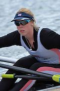 Reading. United Kingdom.  GBR W1X, Rachel GAMBLE-FLINT,  2014 Senior GB Rowing Trails, Redgrave and Pinsent Rowing Lake. Caversham.<br /> <br /> 13:24:00  Saturday  19/04/2014<br /> <br />  [Mandatory Credit: Peter Spurrier/Intersport<br /> Images]