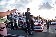 President Trump campaigns in Montoursville, Pennsylvania for a Republican candidate running in a next day's special election.