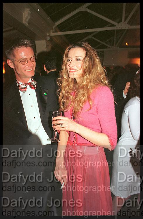 STEPHEN DALDRY NATASCHA MCELHONE,, Tatler Bafta party hosted by Jane Procter and Charles Finch. Lola's. Upper St. London. April 1999.