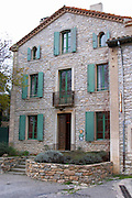 Domaine Grand Guilhem. In Cascastel-des-Corbieres. Fitou. Languedoc. The villa. France. Europe.