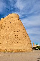 Ouzbekistan, Boukhara, patrimoine mondial de l Unesco, la forteresse Ark // Uzbekistan, Bukhara, Unesco world heritage, Ark fortress