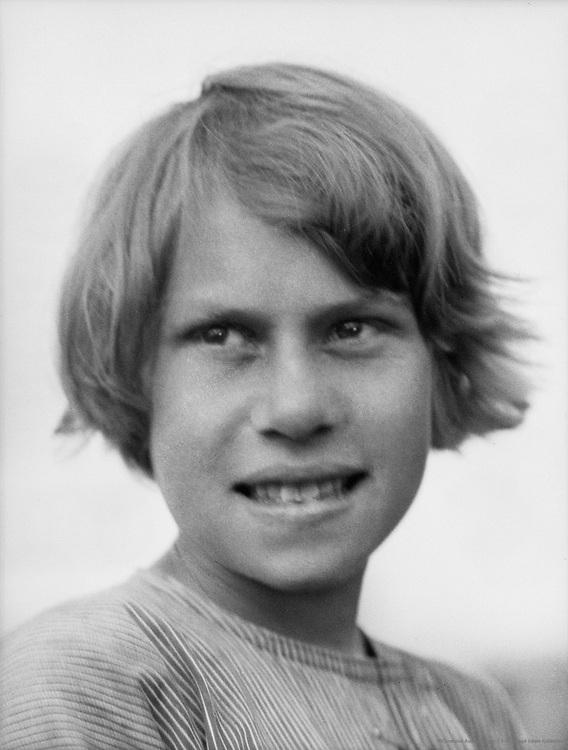 Aboriginal Half-Caste Girl at the Mission School, New Norcia, Australia, 1930