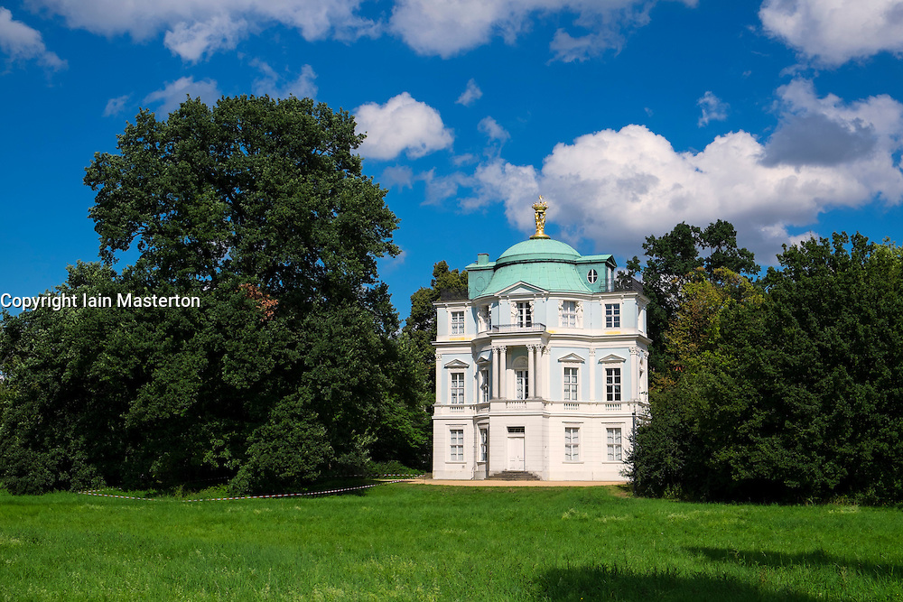 The Belvedere within the gardens of the Schloss Charlottenburg Berlin Germany