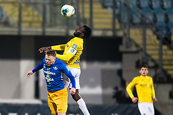 Ovbokha Agboyi of NK Bravo during football match between NK Celje and NK Bravo in Round #22 of Prva liga Telekom Slovenije 2019/20, 26 February, 2020 in Stadium Z'Dezele, Celje, Slovenia. Photo By Grega Valancic / Sportida