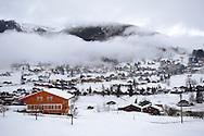 Swiss chalets of Grindelwald - Swiss Alps - Switzerland