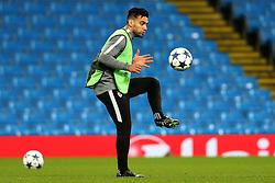 Radamel Falcao of AS Monaco during training - Mandatory by-line: Matt McNulty/JMP - 20/02/2017 - FOOTBALL - Etihad Stadium - Manchester, England - Manchester City v AS Monaco - UEFA Champions League Round of 16 First Leg