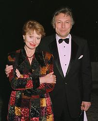 The UKRAINIAN AMBASSADOR PROF. SERGUI KOMISSARENKO & MRS KOMISSARENKO, at a party on April 4th 1997.LXJ 30