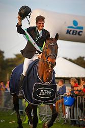 De Cleene Wouter, BEL, Alaric de Lauzelle<br /> Nationale LRV-Eventingkampioenschap Minderhout 2017<br /> © Hippo Foto - Kris Van Steen<br /> 30/04/17