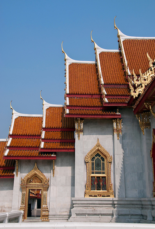 Famous architecture from around Bangkok, Thailand.