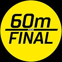 60m Final Men