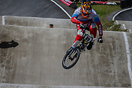 #89 (GALYAMOV Konstantin) RUS during round 4 of the 2017 UCI BMX  Supercross World Cup in Zolder, Belgium.