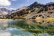 Small mountain lake in a circus