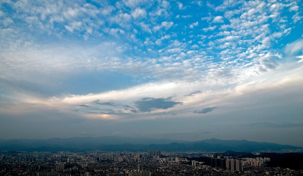 Daegu/South Korea, Republic Korea, KOR, 26.09.2009: The city of Daegu in South Korea.