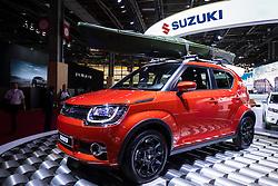 New Suzuki Ignis small crossover suv at Paris Motor Show 2016