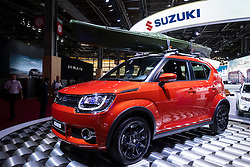 New Suzuki Ignis small crossover suv at Paris Motor Show 2016
