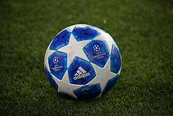 October 24, 2018 - Barcelona, Spain - the ball during the match between FC Barcelona and Inter, corresponding to the week 3 of the group stage of the UEFA Champions Leage, played at the Camp Nou Stadium, on 24th October 2018, in Barcelona, Spain. (Credit Image: © Joan Valls/NurPhoto via ZUMA Press)