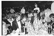 Viscount Althorp and Bradley Cornwallis-White. Berkeley Square Ball. 8 July 1985  SUPPLIED FOR ONE-TIME USE ONLY> DO NOT ARCHIVE. © Copyright Photograph by Dafydd Jones 66 Stockwell Park Rd. London SW9 0DA Tel 020 7733 0108 www.dafjones.com