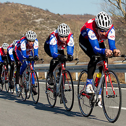 20120221: SLO, Cycling - KK Adria Mobil Cycling Club at training camp in Strunjan