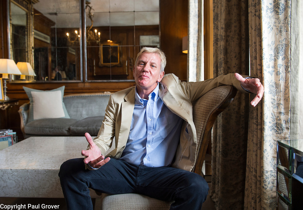 Business.Pic Shows Author and Entrepreneur Richard Koch at the Pelham Hotel
