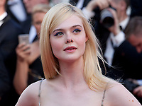 Elle Fanning at the 70th Anniversary Ceremony arrivals at the 70th Cannes Film Festival Tuesday 23rd May 2017, Cannes, France. Photo credit: Doreen Kennedy
