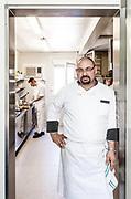 Milan, Bollate, InGalera Restaurant: the chef Ivan Manzo