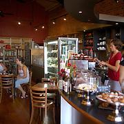 Upstairs at Bookshop Cafe,  Gladstone Road. Gisborne, New Zealand. 17th January 2010. Photo Tim Clayton.