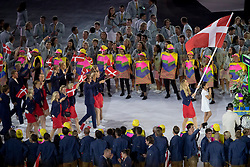 Denmark, Opening ceremony<br /> Olympic Games Rio 2016<br /> © Hippo Foto - Dirk Caremans<br /> 05/08/16